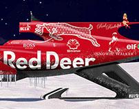 Santa's Formula One Sleigh