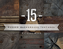 Natural Wood Backgrounds - Texture Pack