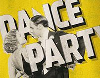 Retro Dance Flyer & Social Templates