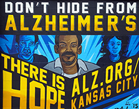 Alzheimer's Mural on Troost