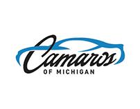 Camaros of Michigan Logo & Merchandise
