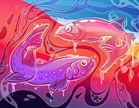 FishScreen Graffiti