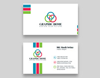 Graphic Home Business Card