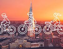 Cycle Londons Landmarks