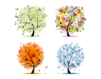 Art trees collection
