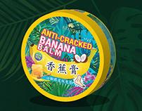 Packaging Design : Anti-Cracked Banana Balm