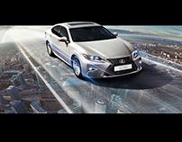Lexus ES250 Billboard
