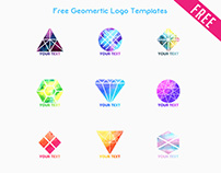 Free Geomertic Logo Templates IN PSD