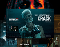 Don't Breathe - microsite