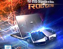 Artes lanzamiento ROG GX700