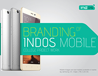 BRANDING - INDOS MOBILE (PROJECT WORK)