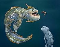 Baracule - creature concept