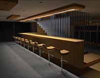 Café interior - 1st version