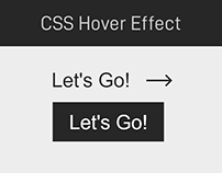 Mouse hover effect on button using CSS