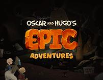 Epic Adventures - Interactive animated app / Web Design