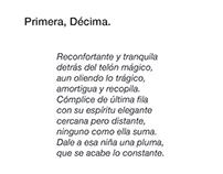 Primera, Décima.
