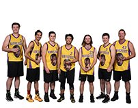 Baseball Team Player's Clipping Path Service