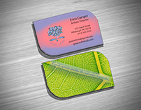 Peace of Mind Business Card