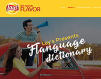 Lays Flanguage Website