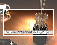 Portfolio: 2015 University Work (3D Printing/Modelling)