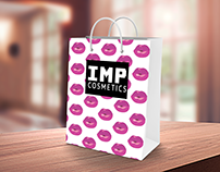 IMPS Cosmetics Shopping Bag Pattern