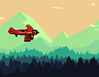 The Red Baron (Der Rote Kampfflieger ) - Game Project