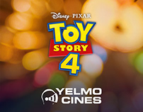 Digital adverts for Toy Story 4