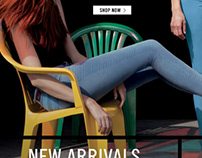 Levi's E-Commerce Site Maintenance, Lead Creative