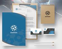 ZASWARE Brand Identity | flyer | Catalog