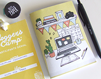 2016 Exclusive Bloggers Camp Notebook