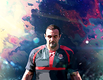 GEORGIAN RUGBY NATIONAL TEAM CAPTAIN
