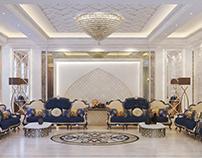 Arabic Majlis design (مجلس عريى)
