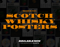 Scotch Whisky Posters