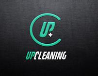 Upcleaning - logo & visual identity