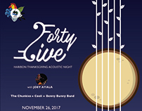 Forty Five: Haribon Thanksgiving Acoustic Night Concert