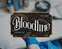 Bloodline Tattoo Company Branding Case Study