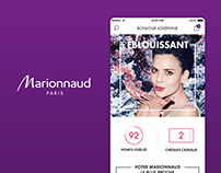 Application Mobile Marionnaud