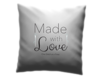 Made with Love Pillowcase