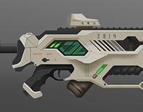 Gaus Rifle Concept