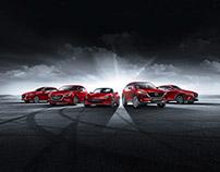 Mazda range shot.