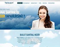 Siluet Tanıtım Web Tasarım | telsam_cloud