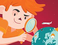 Ilustrações divulgação de apps - NZN