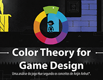 Infográfico Color Theory for Game Design