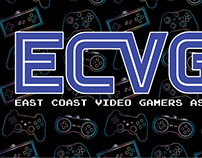 East Coat Video Games Logo Creation.