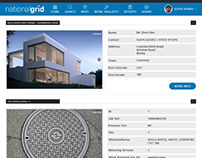 National Grid - Admin UI Design