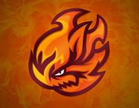 FIREBOMB mascot logo
