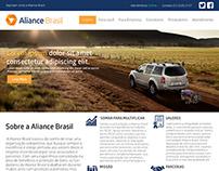 Aliance Brasil WebSite  (Re-design)