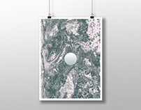 The Moon Project - Print Design