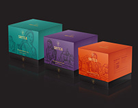 SriTea premium tea design