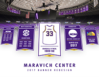 LSU Arena Banners